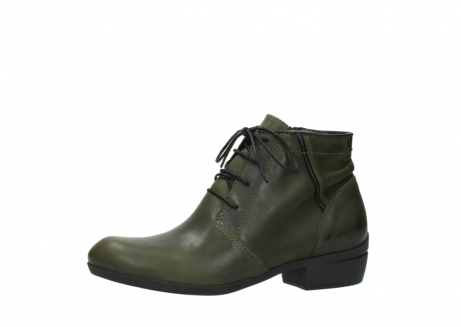 wolky lace up boots 00951 el dorado 50732 forestgreen leather_24