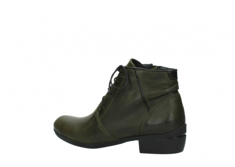 wolky lace up boots 00951 el dorado 50732 forestgreen leather_3