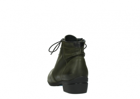 wolky lace up boots 00951 el dorado 50732 forestgreen leather_6