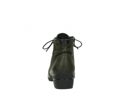 wolky lace up boots 00951 el dorado 50732 forestgreen leather_7