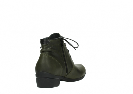 wolky lace up boots 00951 el dorado 50732 forestgreen leather_9