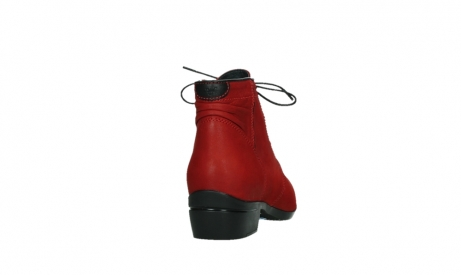 wolky lace up boots 00955 delano 13505 dark red nubuckleather_20