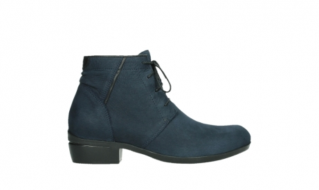 wolky lace up boots 00955 delano 13800 blue nubuckleather_1