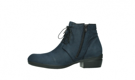 wolky lace up boots 00955 delano 13800 blue nubuckleather_12