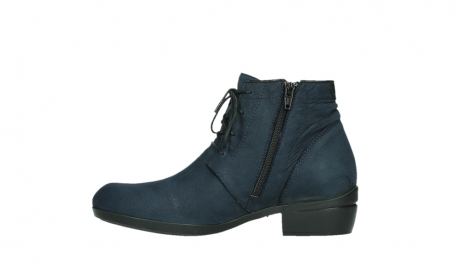 wolky lace up boots 00955 delano 13800 blue nubuckleather_13