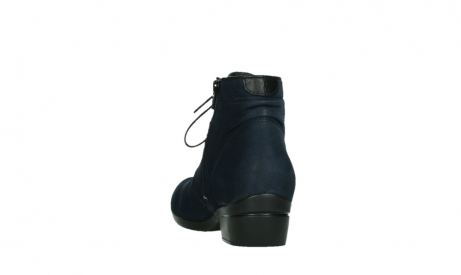wolky lace up boots 00955 delano 13800 blue nubuckleather_18