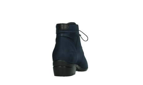 wolky lace up boots 00955 delano 13800 blue nubuckleather_20