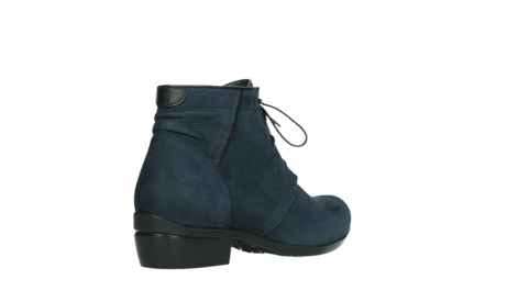 wolky lace up boots 00955 delano 13800 blue nubuckleather_22