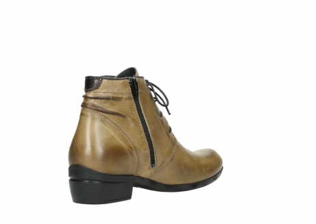 wolky lace up boots 00955 delano 30920 ocre leather_10