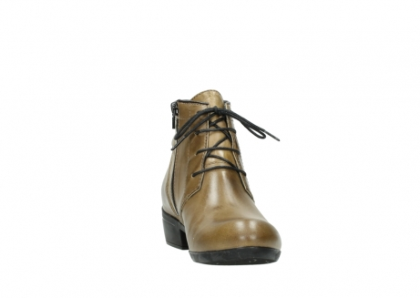 wolky lace up boots 00955 delano 30920 ocre leather_18