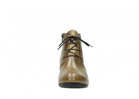 wolky lace up boots 00955 delano 30920 ocre leather_19