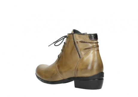 wolky lace up boots 00955 delano 30920 ocre leather_4