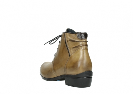 wolky lace up boots 00955 delano 30920 ocre leather_5