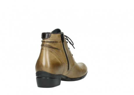 wolky lace up boots 00955 delano 30920 ocre leather_9