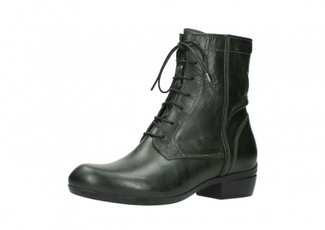 wolky lace up boots 00956 fortuna 30730 forest leather_23