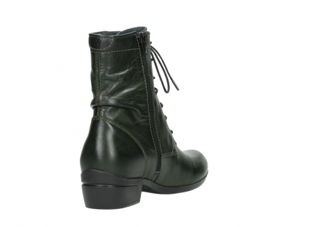 wolky lace up boots 00956 fortuna 30730 forest leather_9