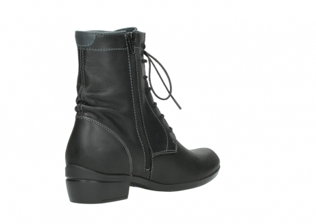 wolky lace up boots 00956 fortuna 50002 black leather_10