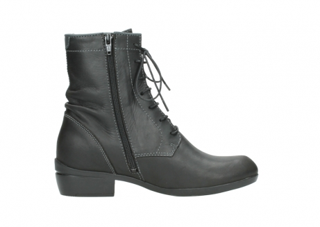 wolky lace up boots 00956 fortuna 50002 black leather_13