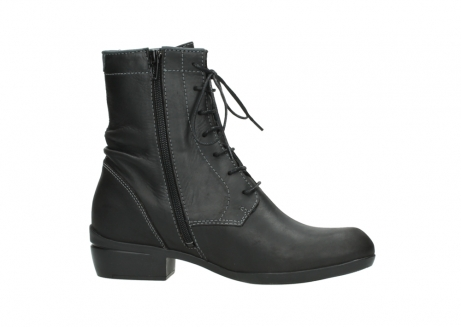 wolky lace up boots 00956 fortuna 50002 black leather_14