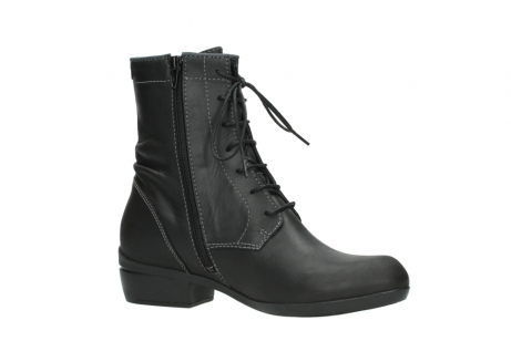 wolky lace up boots 00956 fortuna 50002 black leather_15