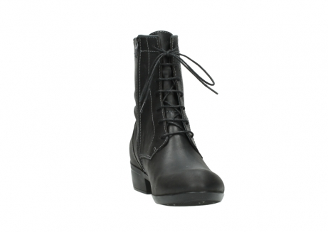 wolky lace up boots 00956 fortuna 50002 black leather_18
