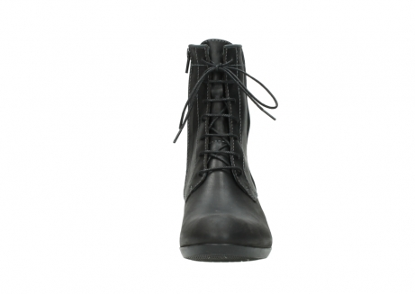 wolky lace up boots 00956 fortuna 50002 black leather_19
