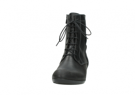 wolky lace up boots 00956 fortuna 50002 black leather_20