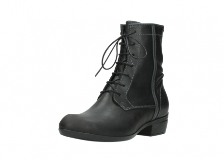 wolky lace up boots 00956 fortuna 50002 black leather_22