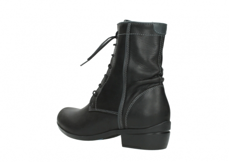 wolky lace up boots 00956 fortuna 50002 black leather_4