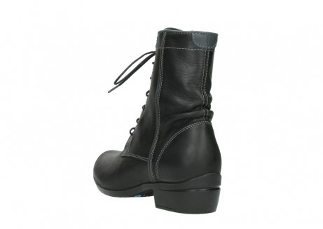 wolky lace up boots 00956 fortuna 50002 black leather_5