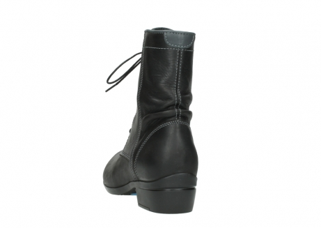wolky lace up boots 00956 fortuna 50002 black leather_6