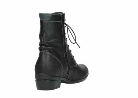 wolky lace up boots 00956 fortuna 50002 black leather_9