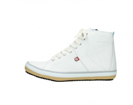 wolky bottines a lacets 01235 biker men 20120 cuir blanc_1