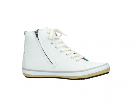 wolky bottines a lacets 01235 biker men 20120 cuir blanc_14