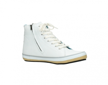 wolky bottines a lacets 01235 biker men 20120 cuir blanc_15