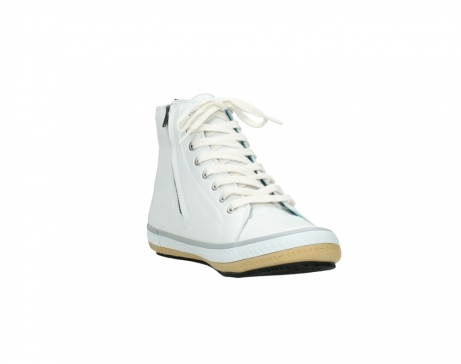 wolky bottines a lacets 01235 biker men 20120 cuir blanc_17