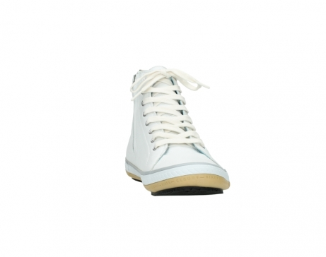 wolky bottines a lacets 01235 biker men 20120 cuir blanc_18
