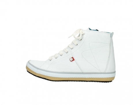 wolky bottines a lacets 01235 biker men 20120 cuir blanc_2