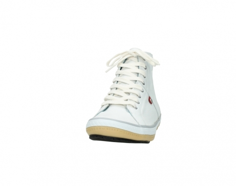 wolky bottines a lacets 01235 biker men 20120 cuir blanc_20