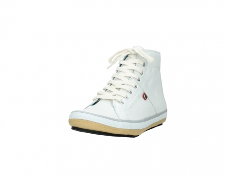 wolky bottines a lacets 01235 biker men 20120 cuir blanc_21