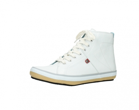 wolky bottines a lacets 01235 biker men 20120 cuir blanc_23