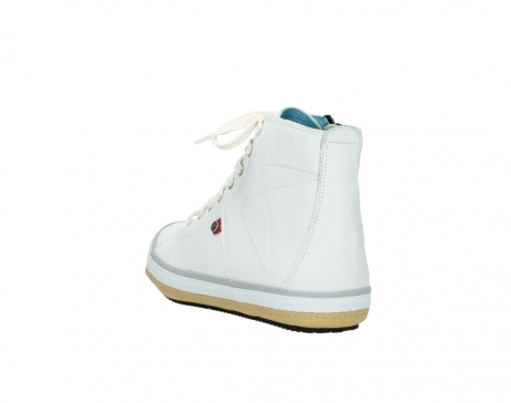wolky bottines a lacets 01235 biker men 20120 cuir blanc_5