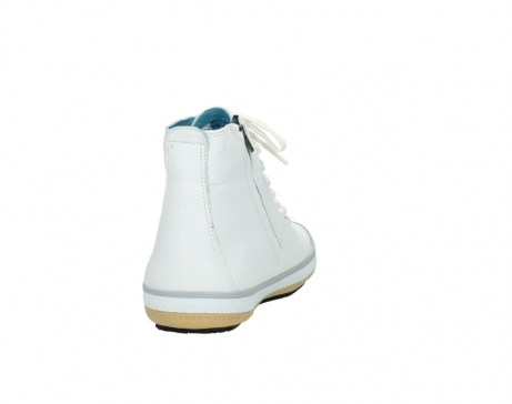 wolky bottines a lacets 01235 biker men 20120 cuir blanc_8