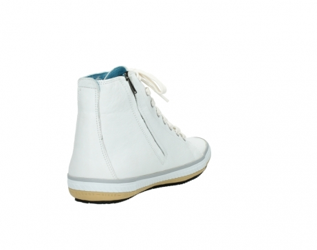 wolky bottines a lacets 01235 biker men 20120 cuir blanc_9