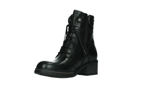 wolky lace up boots 01260 red deer 30000 black leather_10