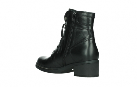 wolky lace up boots 01260 red deer 30000 black leather_16