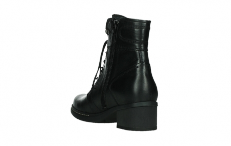 wolky lace up boots 01260 red deer 30000 black leather_17