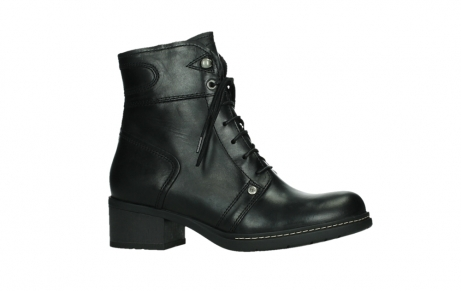 wolky lace up boots 01260 red deer 30000 black leather_2