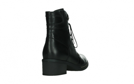 wolky lace up boots 01260 red deer 30000 black leather_21