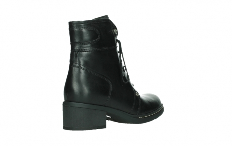 wolky lace up boots 01260 red deer 30000 black leather_22